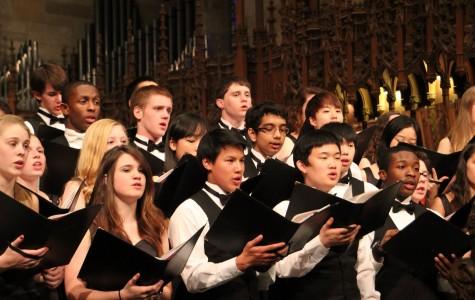 Peddie Chorus performs with Alabama collegiate chorus