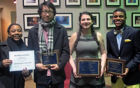 Peddie Holds the 148th Declamation Contest