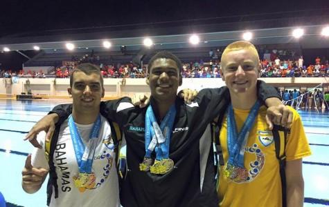 Peddie Swimmers Take Part in Carifta Championships