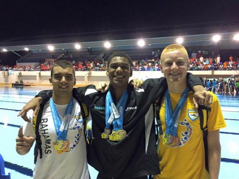 Peddie Swimmers Take Part in Carifta Championships