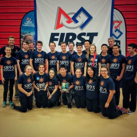 Peddie Robotics Brings Home Two Awards in First District Event
