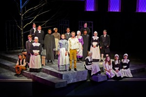 The cast of The Crucible delivered memorable performances at Mount Burke Theater on May 10-11.  (Photo courtesy of Jim Inverso)