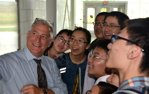 EFZ students visited Peddie for two weeks. Photographer: Yuan Gao