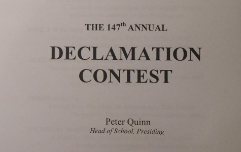 Students Speak Out at the 147th Declamation Contest