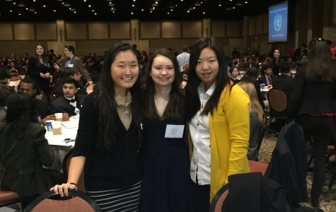 Peddie Participates in the Model United Nations Hershey Conference