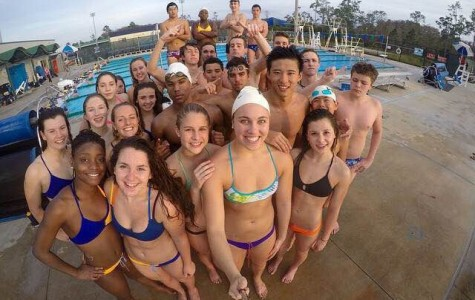 The swim team hits the pool during their training trip to Florida over winter break. Photographer: Sophia Furigay '18