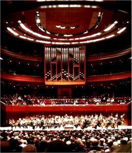 Peddie's orchestra visited the Philadelphia Orchestra at the Kimmel Center. Photographer: Lynna Ye '15