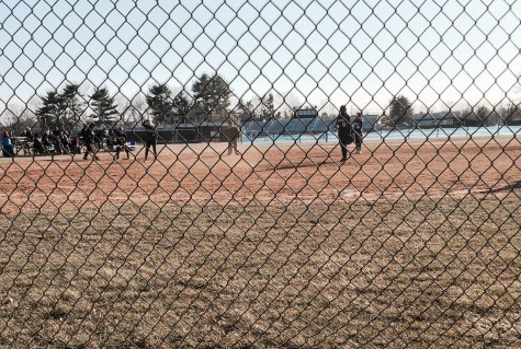 This year's preseason for softball was in New Jersey and the team played four scrimmages.