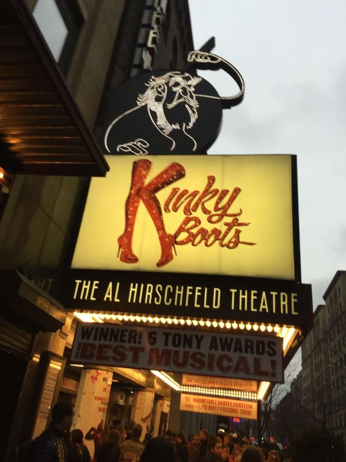 Students+had+the+opportunity+to+see+Kinky+Boots+on+Broadway.