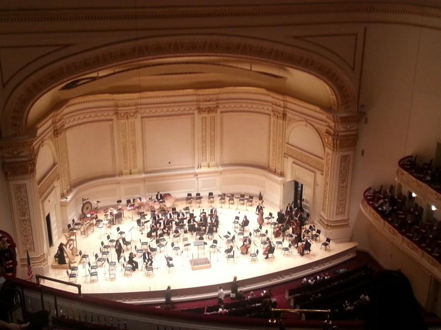 Students+and+faculty+went+to+Carnegie+Hall+in+New+York+City+to+listen+to+the+Boston+Symphony+Orchestra.