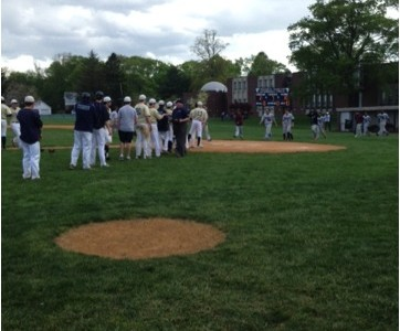 Varsity Baseball Goes Undefeated on Home Field