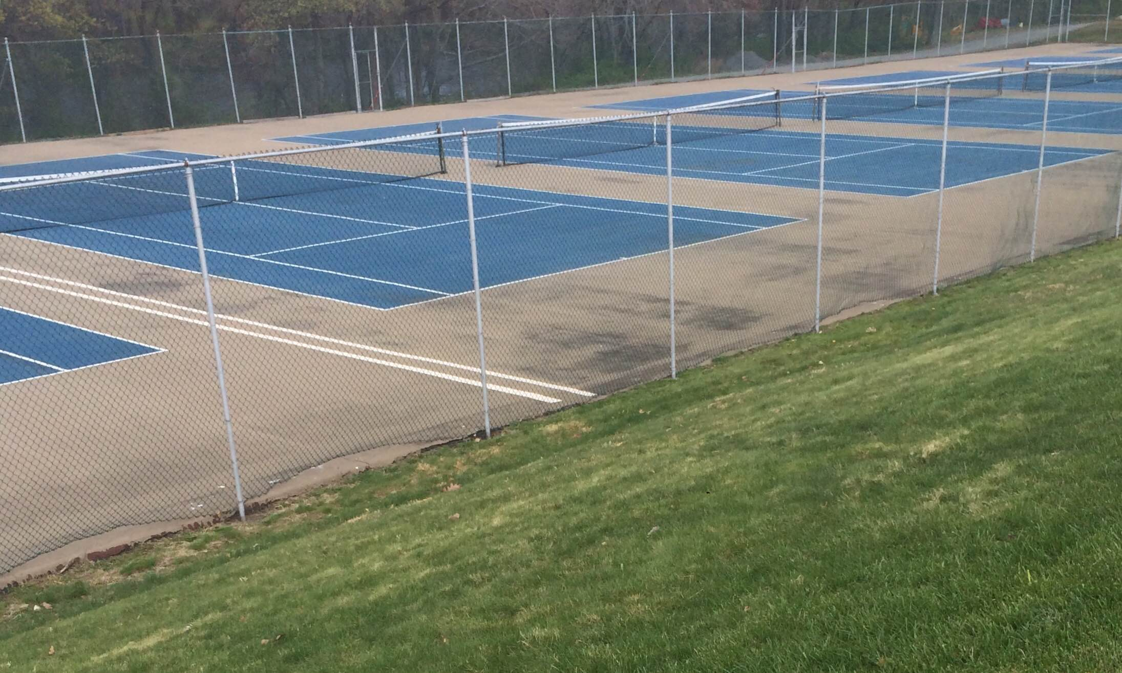 Boys tennis competed in the NEMA tournament on April 24.