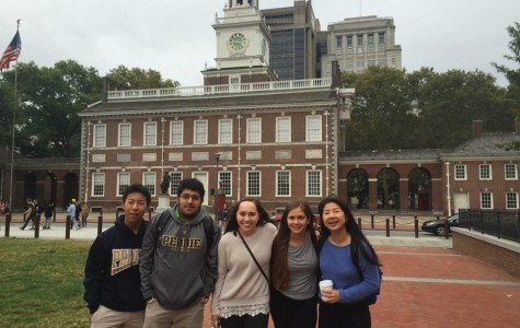 Junior Class Gets a Taste of History in Philadelphia