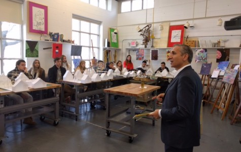 Real-World Architect Visits Peddie Architecture Classes