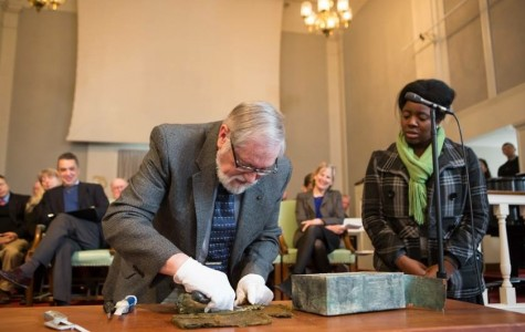 Founders Day Capsules Time and Unveils the Time Capsule