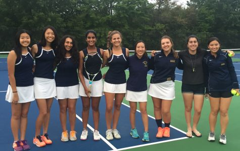 Girls Tennis Prepares to Swing into Blair Day