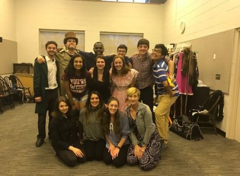 Set Crew Brings Russia to the Stage