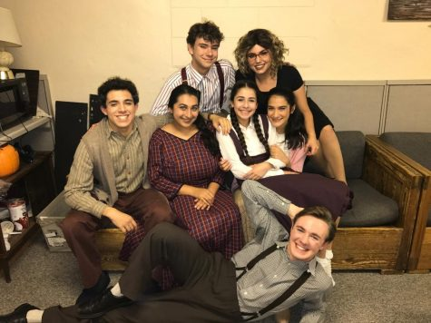 Freshmen Musical Cast Inspired by Broadway Production