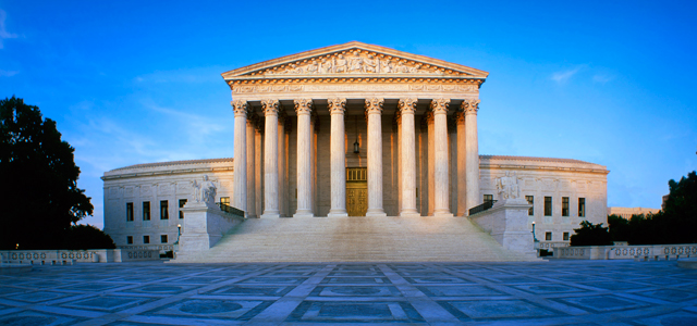 The Supreme Court. Courtesy of the Pew Research Center.