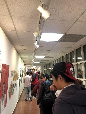 Fall Term Art Exhibit: A Display of Artistic Talents after a Term of Hard Work