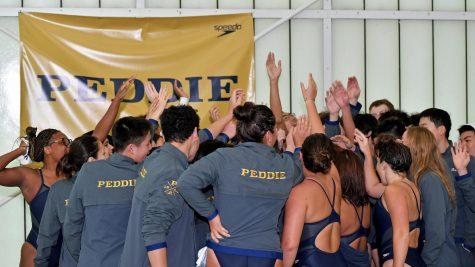 Peddie Swimming Training Trip