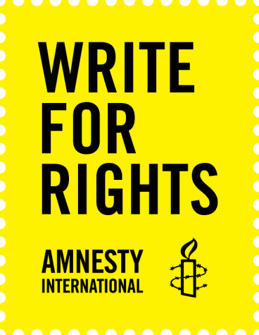 Amnesty International's Write for Rights Campaign